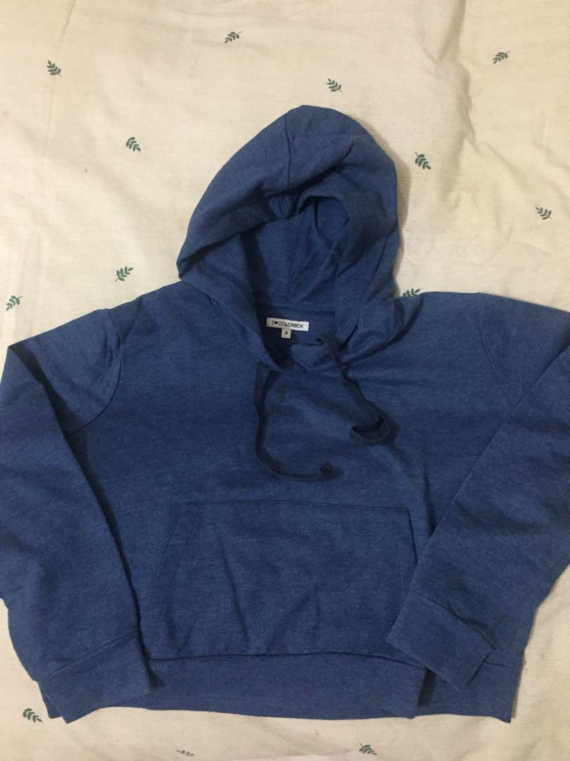 Crop hoodie colorbox