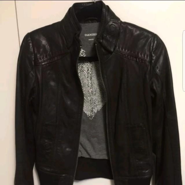 Danier lamb leather coat