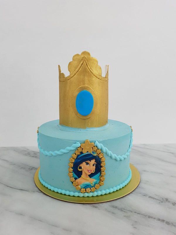 Enjoyable Disney Princess Birthday Cakes Food Drinks Baked Goods On Funny Birthday Cards Online Alyptdamsfinfo