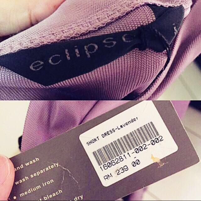 Eclipse Lavender Sexy Dress (N)