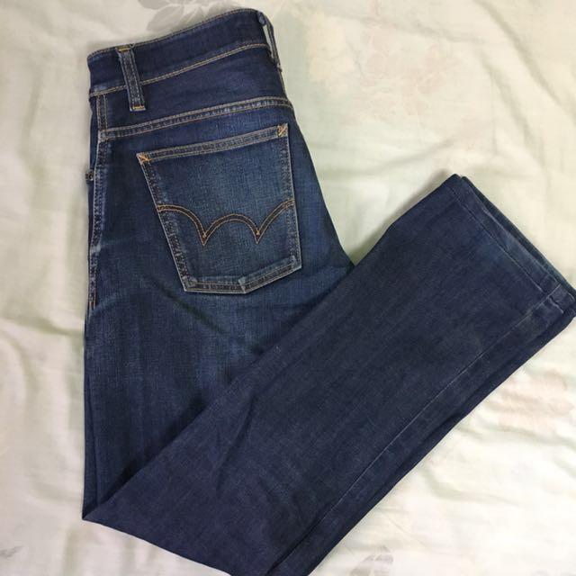 EDWIN 503 ZERO 愛德恩牛仔褲 藍色