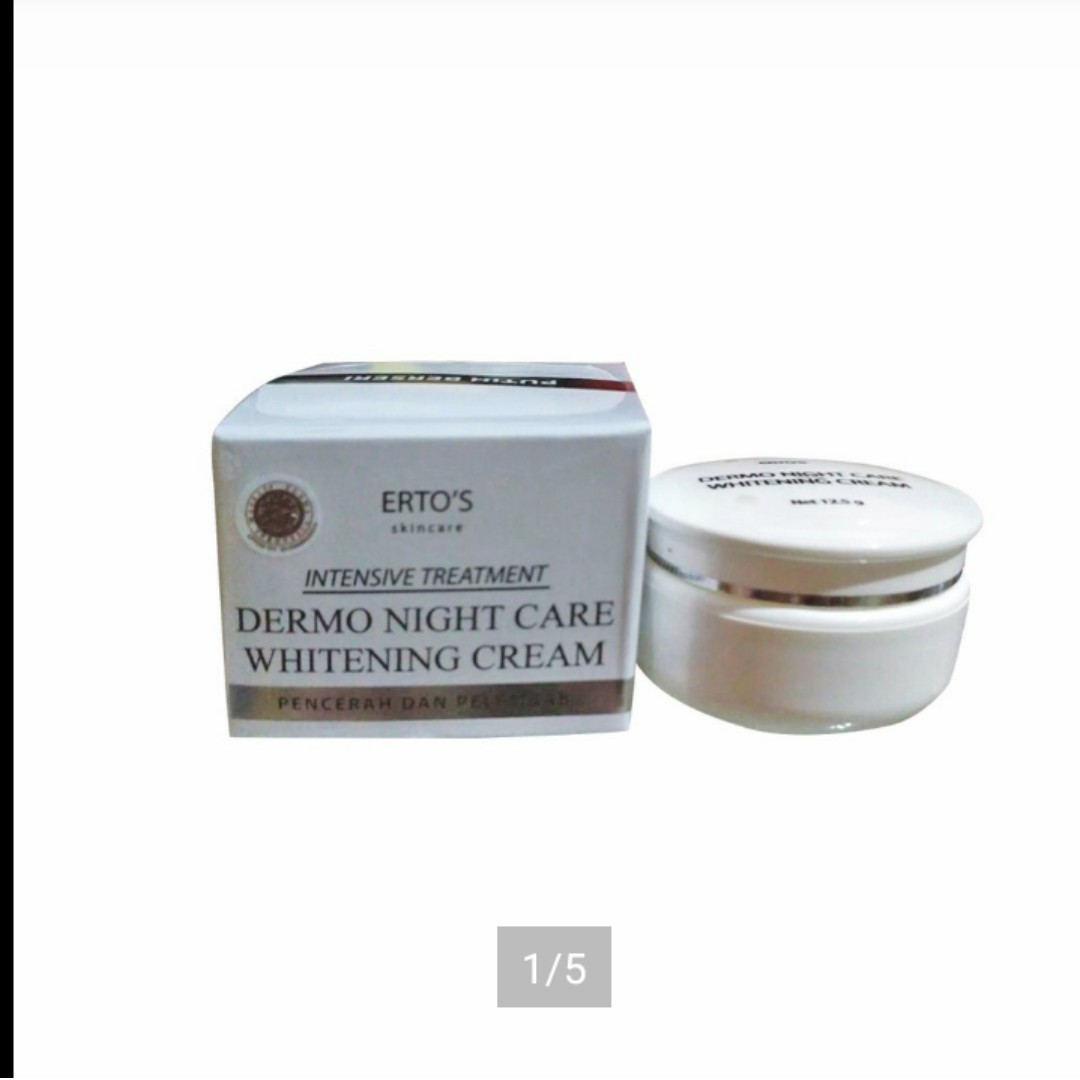 Ertos night creambath