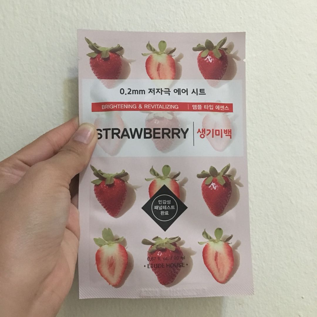 Etude House Sheet Mask