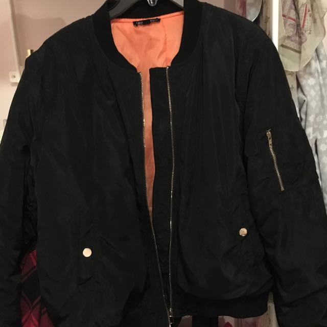 Fashion Nova bomber jacket