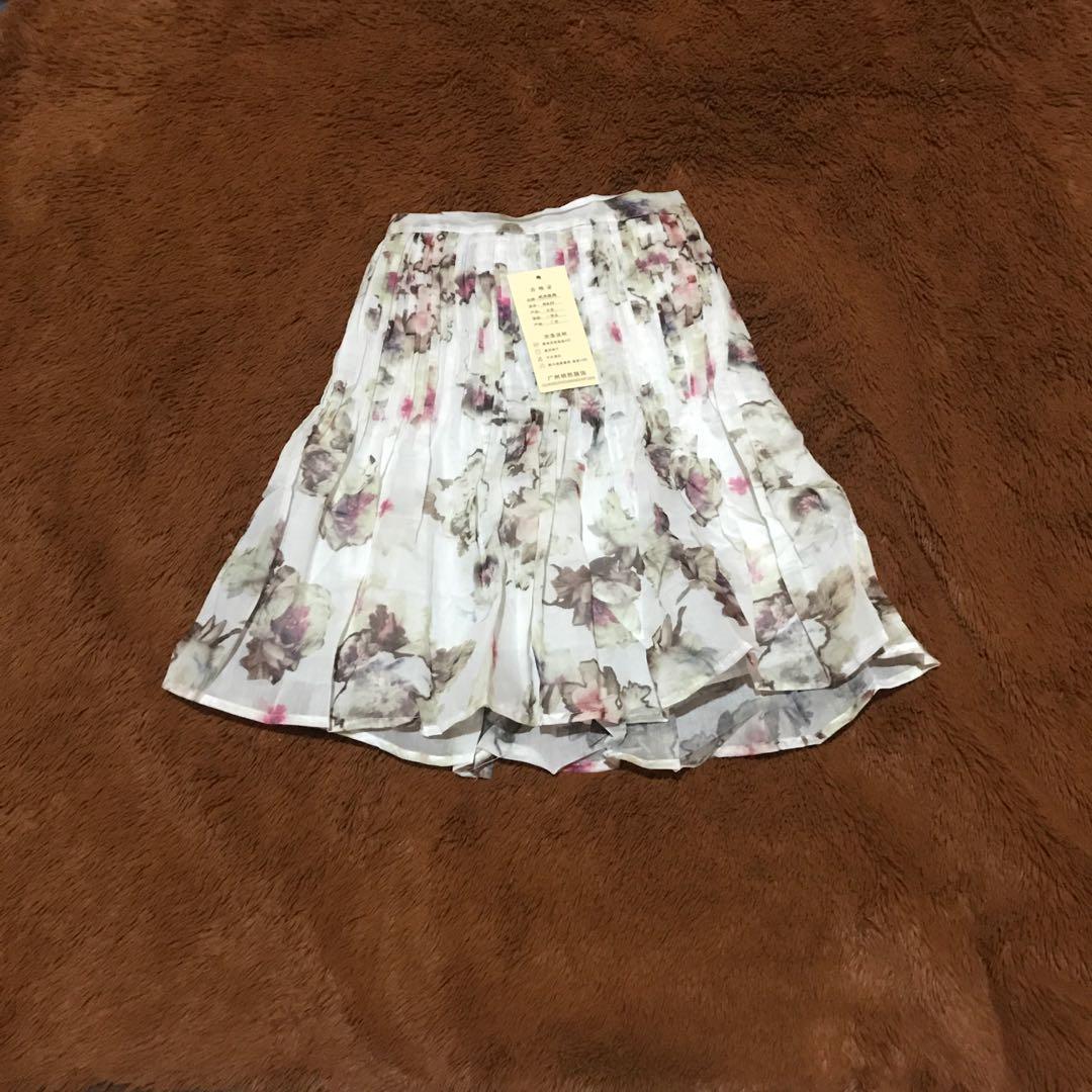 Flowery Tutu Skirt