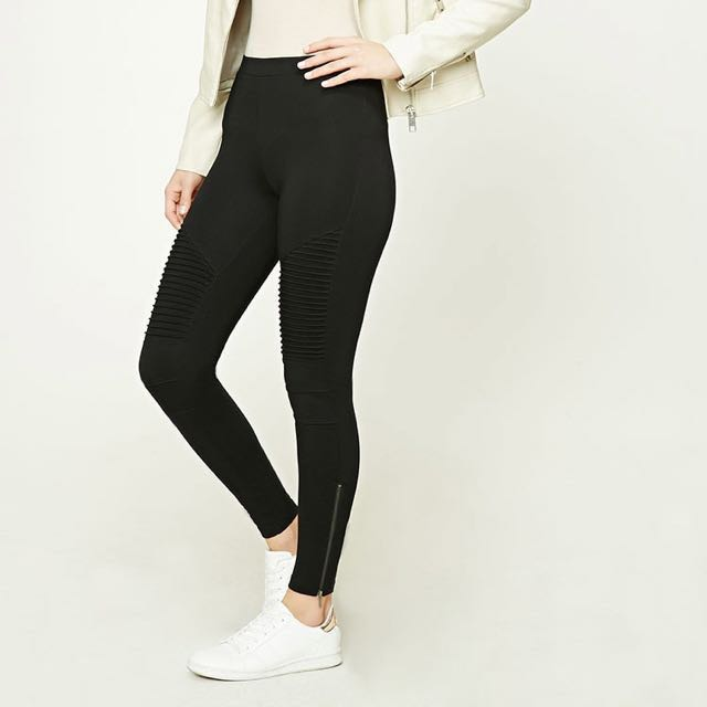 Forever21 Contemporary - Ribbed Leggings