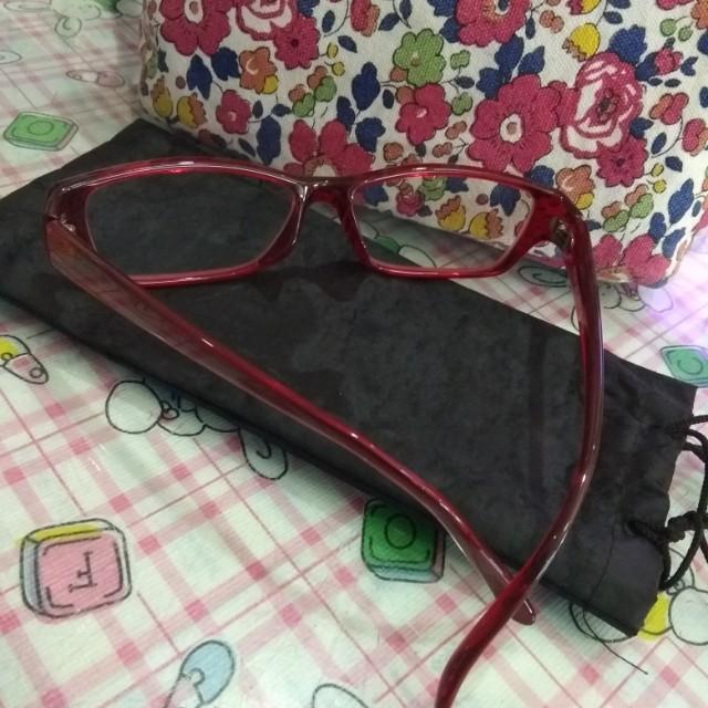 Frame Kacamata Merah For ladies