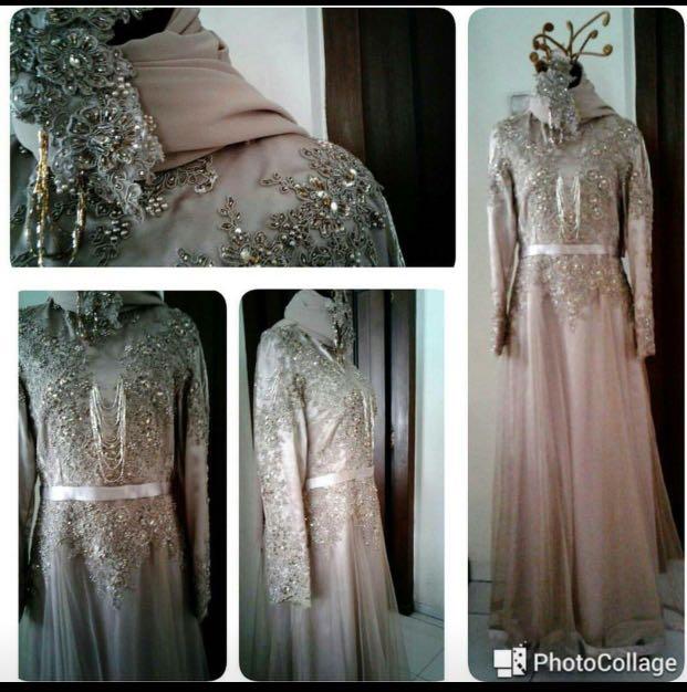 Gaun Pesta Mewah Dan Elegant Women S Fashion Muslim Fashion On