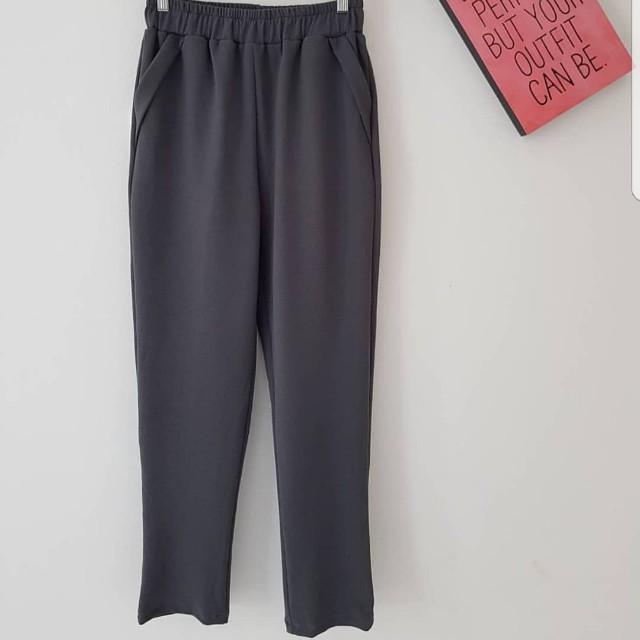 Grey Office Pants