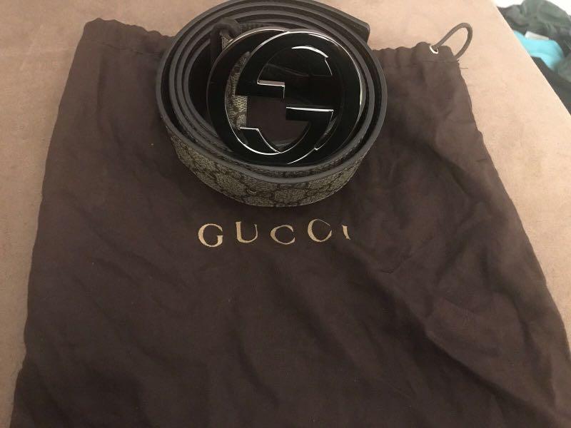 """GUCCI """"G"""" belt"""