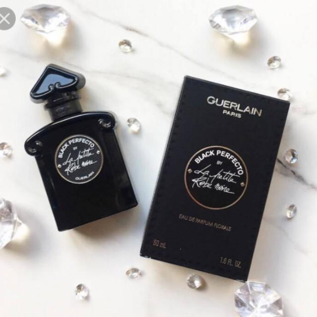 34b143a63da Guerlain Black Perfecto La Petit Robe Noire EDP Florale 50ml   1.7oz Rose