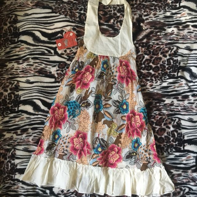 Halter Summer Dress / Cover Up
