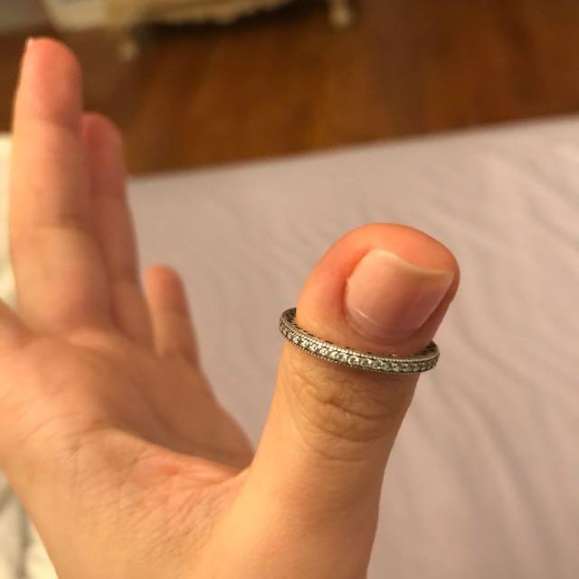 Hearts of pandora ring size 7