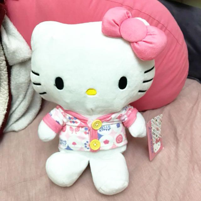 Hello kitty  kt 娃娃 玩偶 中型娃娃 夾娃娃