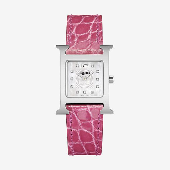 Hermes Heure H Watch With Diamonds