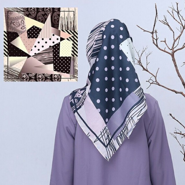 Hijab Printing Voal Nett Olshop Fashion Olshop Muslim On Carousell