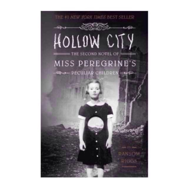 Hollow City - Miss Peregrine's Home for Peculiar Children - Ransom Riggs - hardcover hardback hard cover