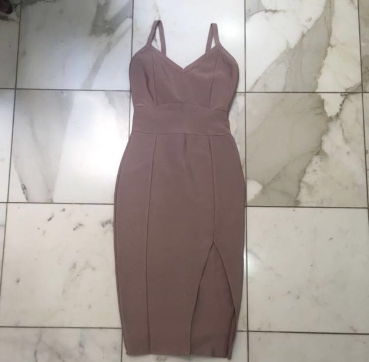 HONEY Bandage Bodycon Dress xs (repost)