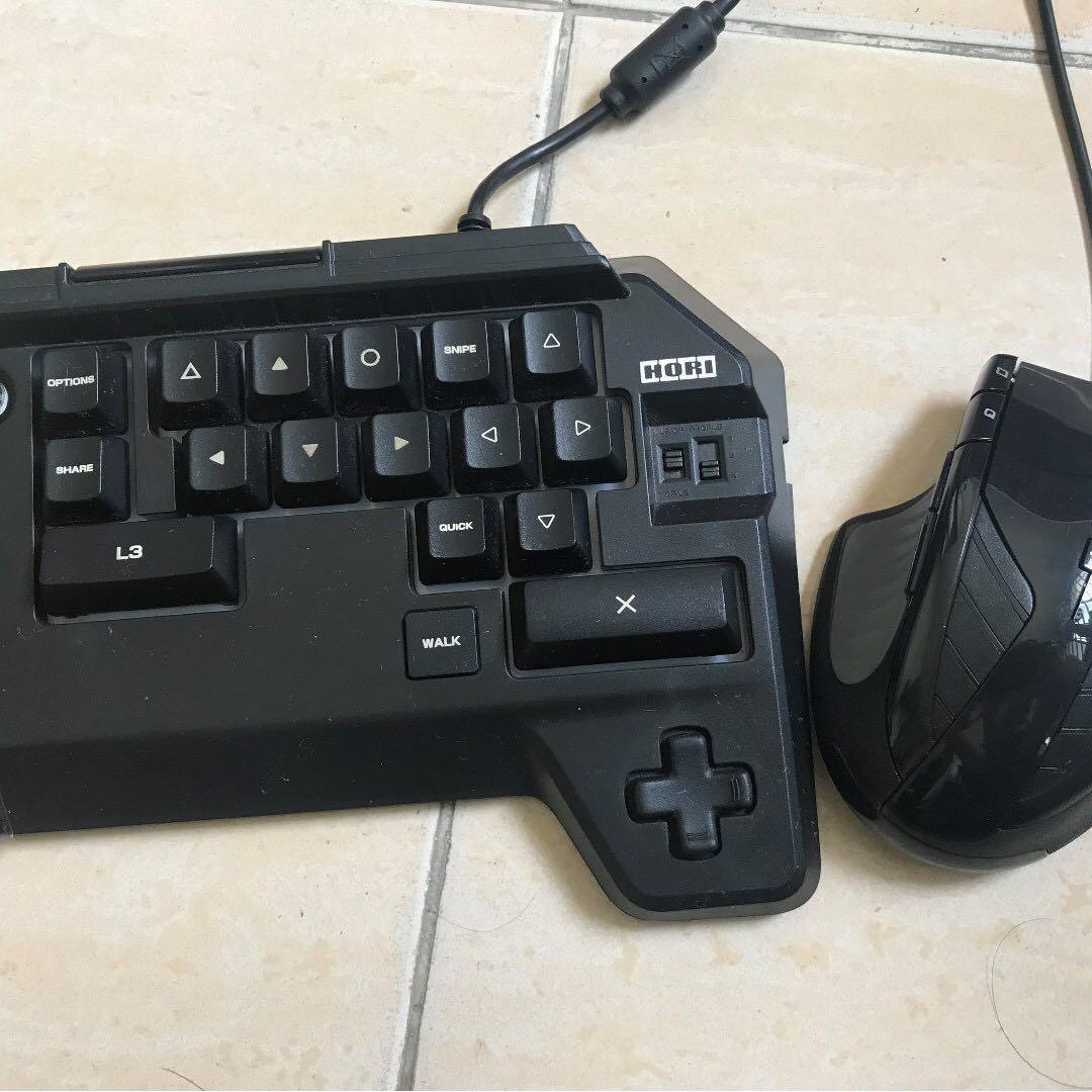 Hori Tactical Assault PS4 Keyboard Mouse Controller, Toys
