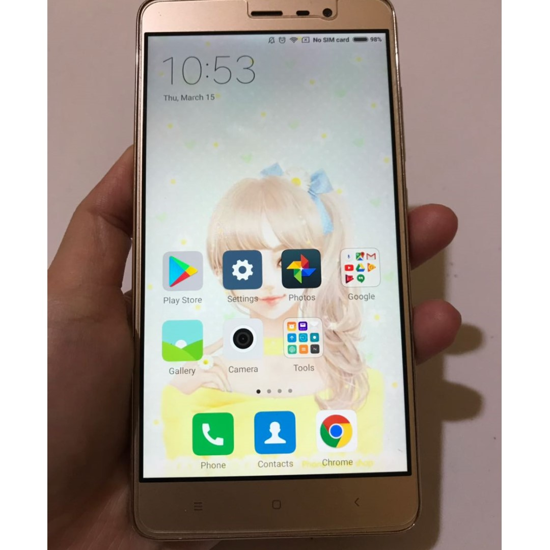 HP XIAOMI REDMI NOTE 3 PRO 3/32 (SECOND)