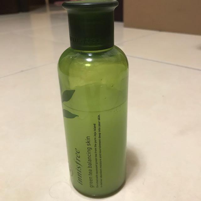 Innisfree綠茶籽化妝水