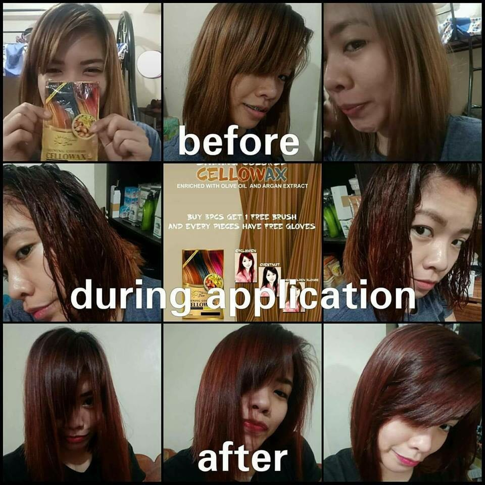 Instant Hair Color (Merry Sun Cellowax)