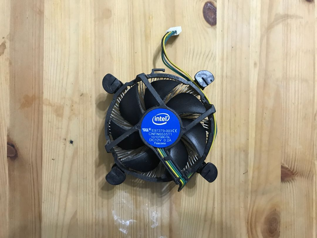 Intel Heatsink Fan Electronics Computers Desktops On Carousell Aigoo 2gb