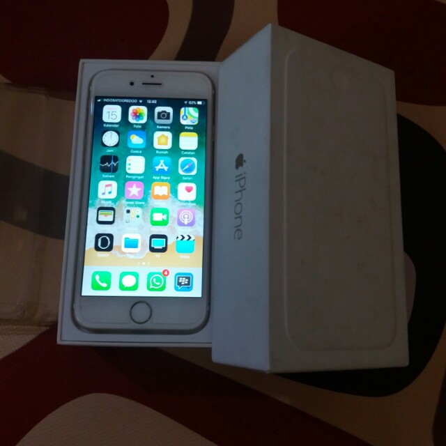 Iphone 6 16gb gold ex inter LL/A