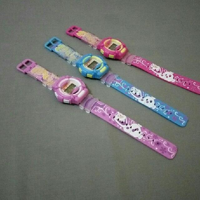 Jam Tangan Digital Mainan Anak-anak