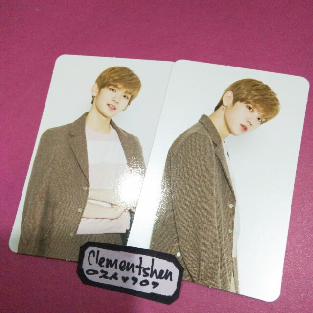 JBJ 1st Concert Merchandise Kenta Phtoocard SET
