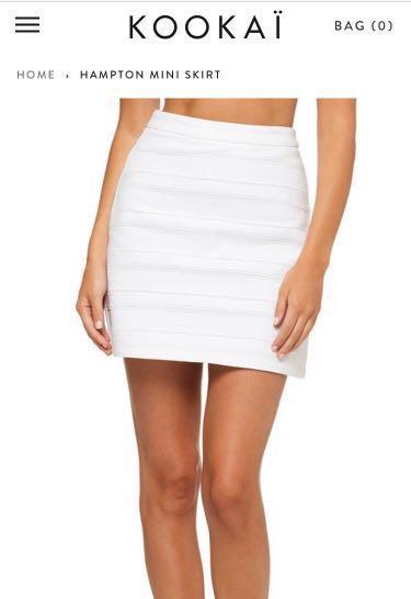 Kookaï Hampton Skirt Size 34