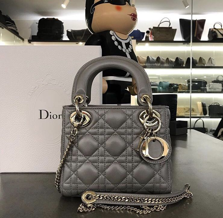 Lady Dior Bag (Mini size) almost like new 3acc949bf2aa3