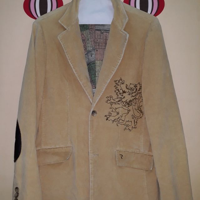 """LIGHT BROWN JACKET """"SELLING FOR A FRIEND"""""""