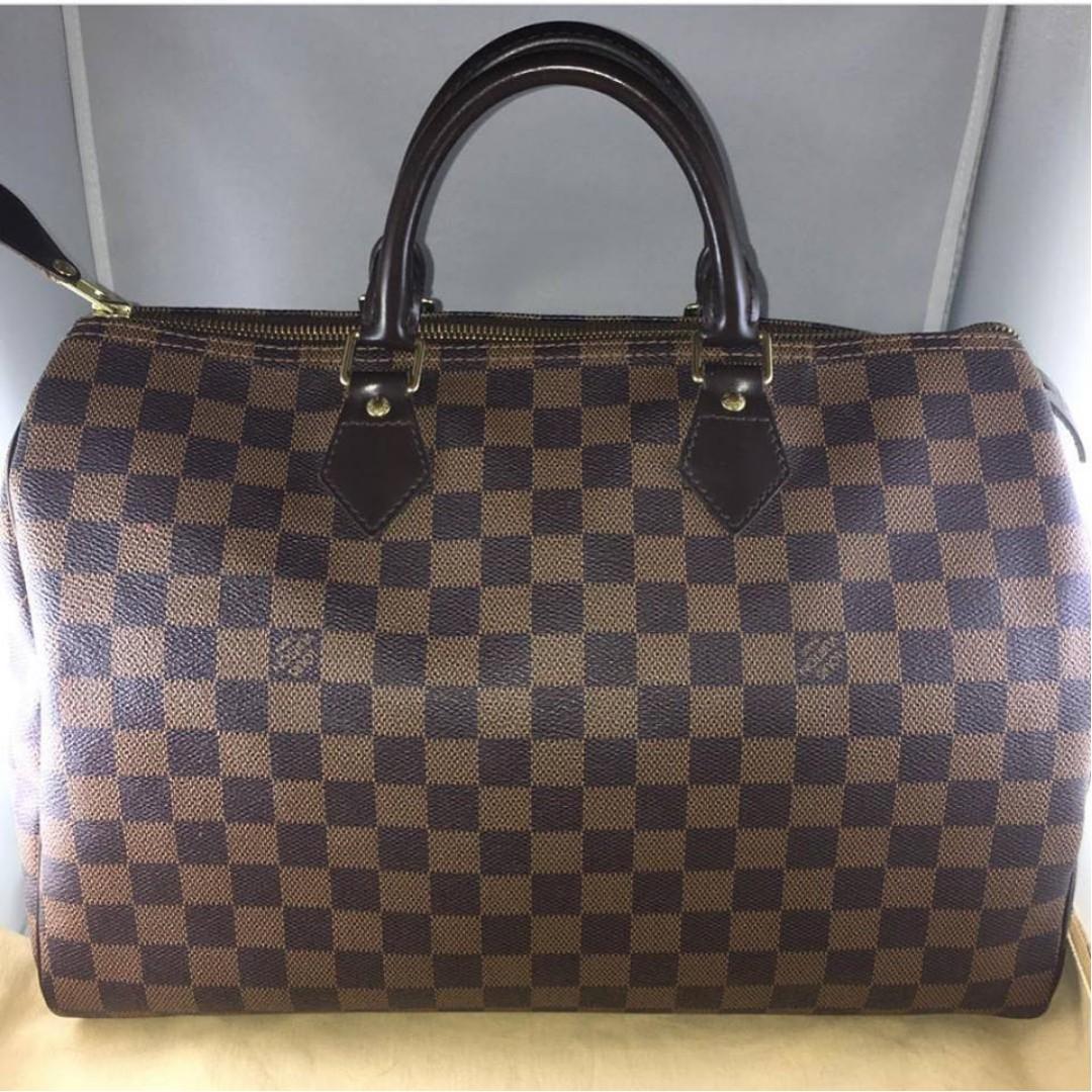d80ec4ef0a5 Louis Vuitton Damier Ebene Speedy 35