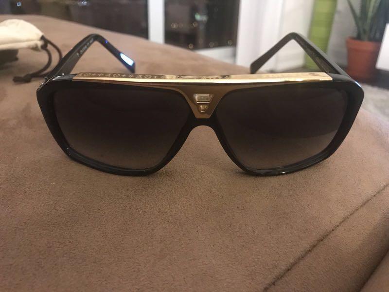 "LOUIS VUITTON ""evidence"" sunglasses"