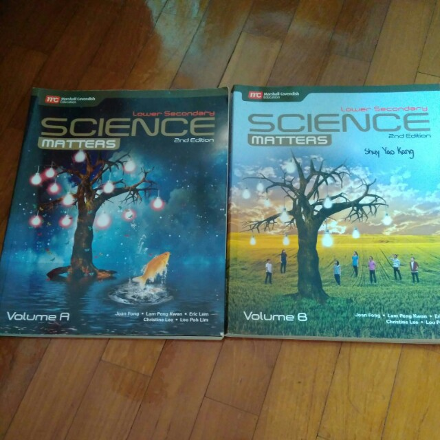 Lower Secondary Science Matters Textbook