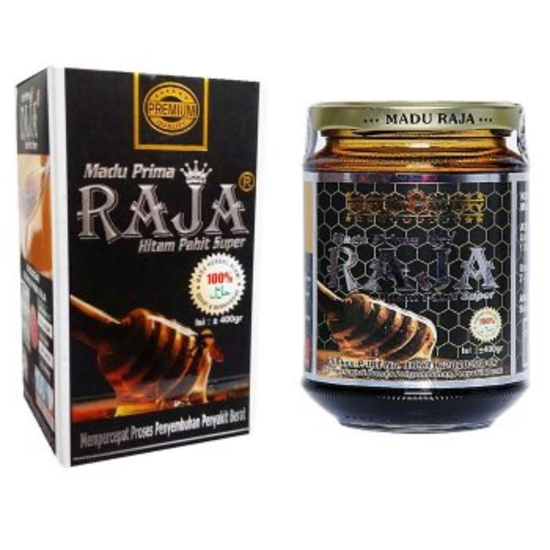 Maddu Prima RAJA Hitam Pahit Super 400 gr gram