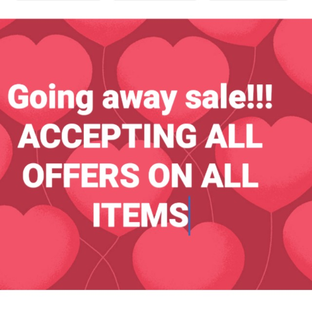 MAKE ME OFFER!! CHECK MY LISTINGS
