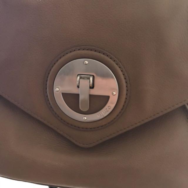 MIMCO Brown Turnlock Bag