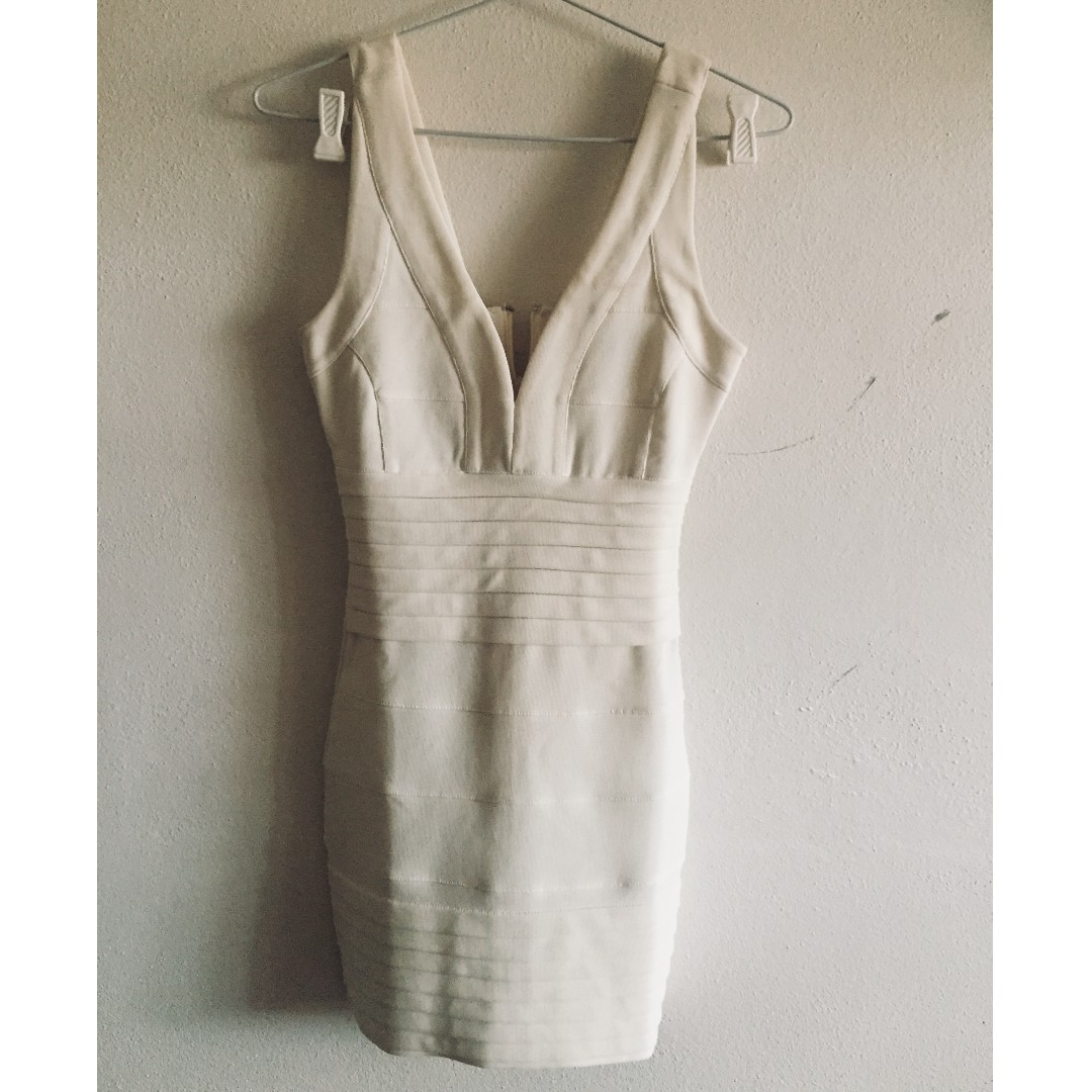 Missguided white dress