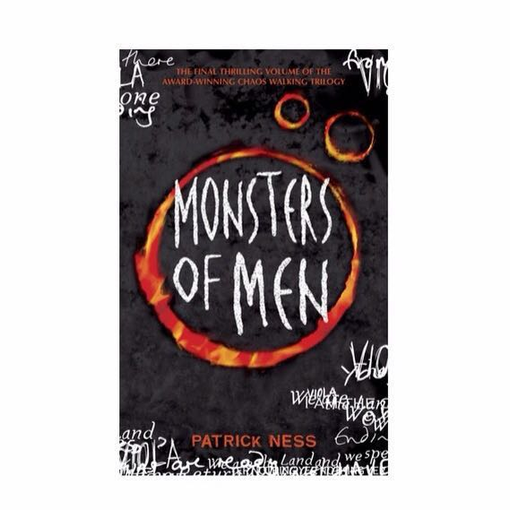 Monsters of Men - first edition - hardcover - hardback - hard cover - Patrick Ness
