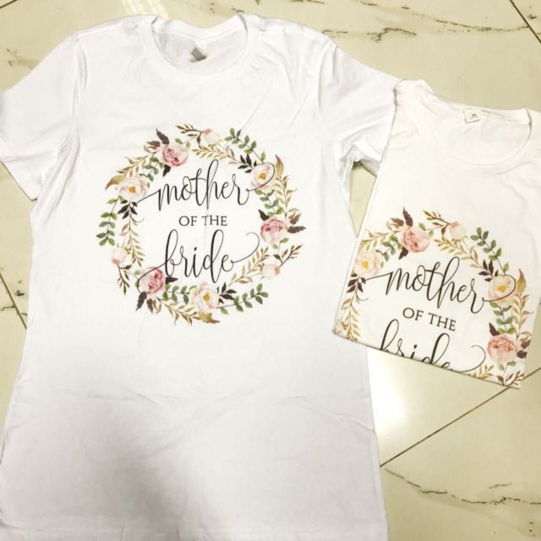 Mother of bride tshirt