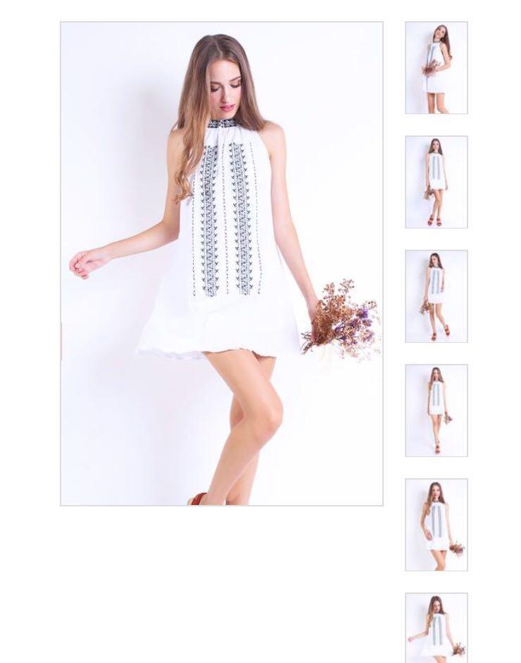 a9cc81eee9c Neonmello Bohemian Dress White