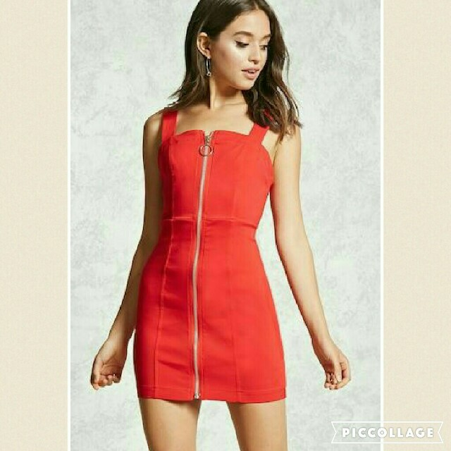 (NEW) Forever 21 Red Dress