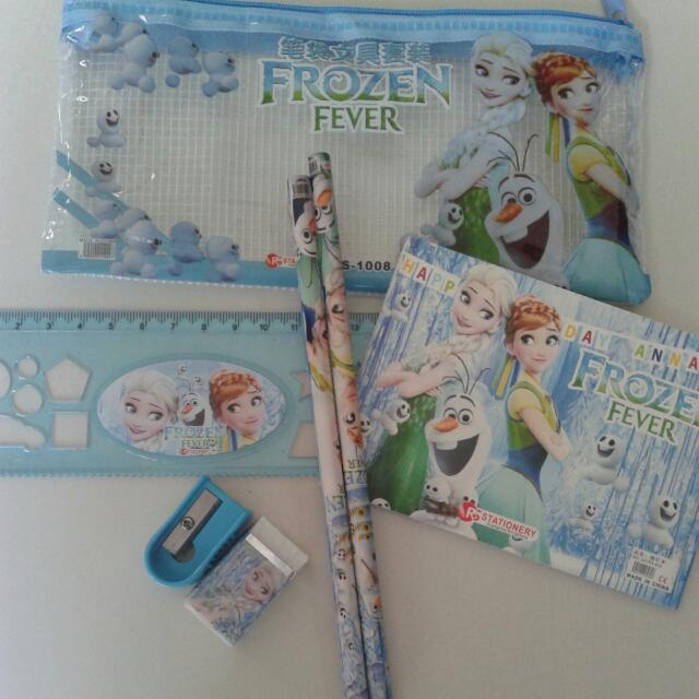 NEW FROZEN PENCIL CASE &STATIONERY