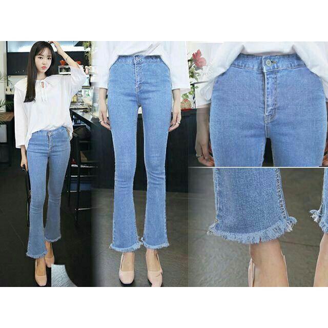 NEW-HW Cutbray Jeans