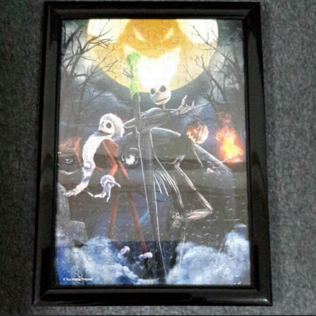 nightmare before christmas puzzle piece design craft others on carousell