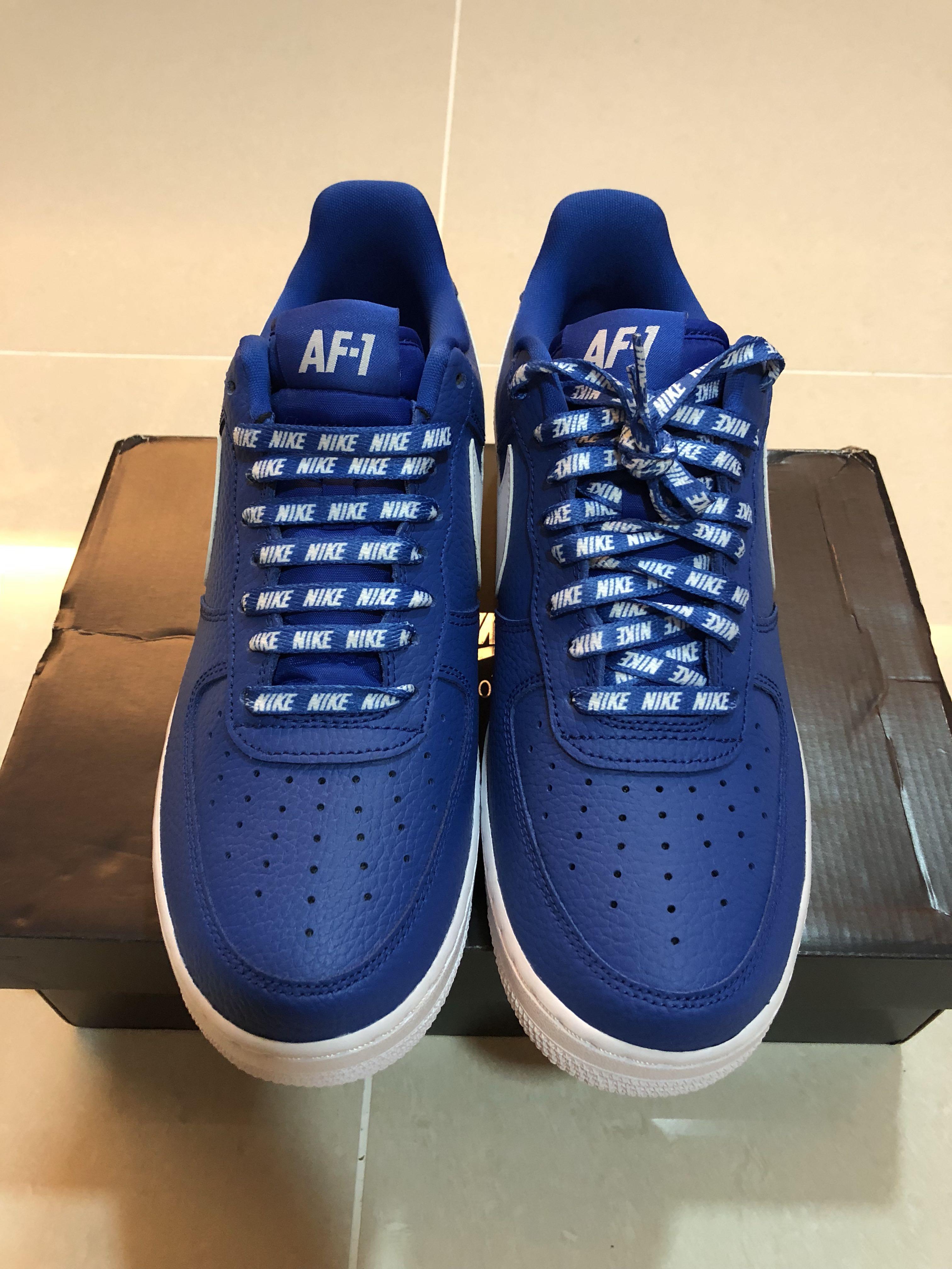 Air Nba Nike Af1 1 Blue Force O8nw0Pk