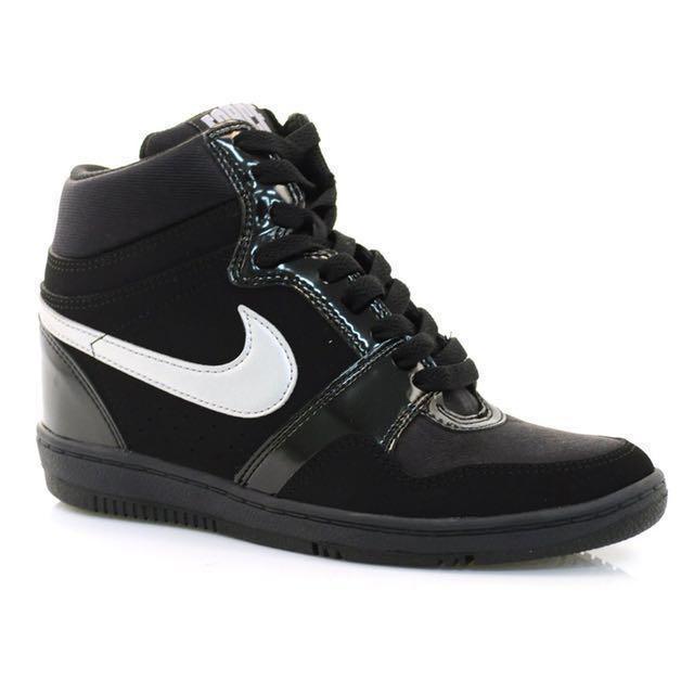 Nike in heel sneakers