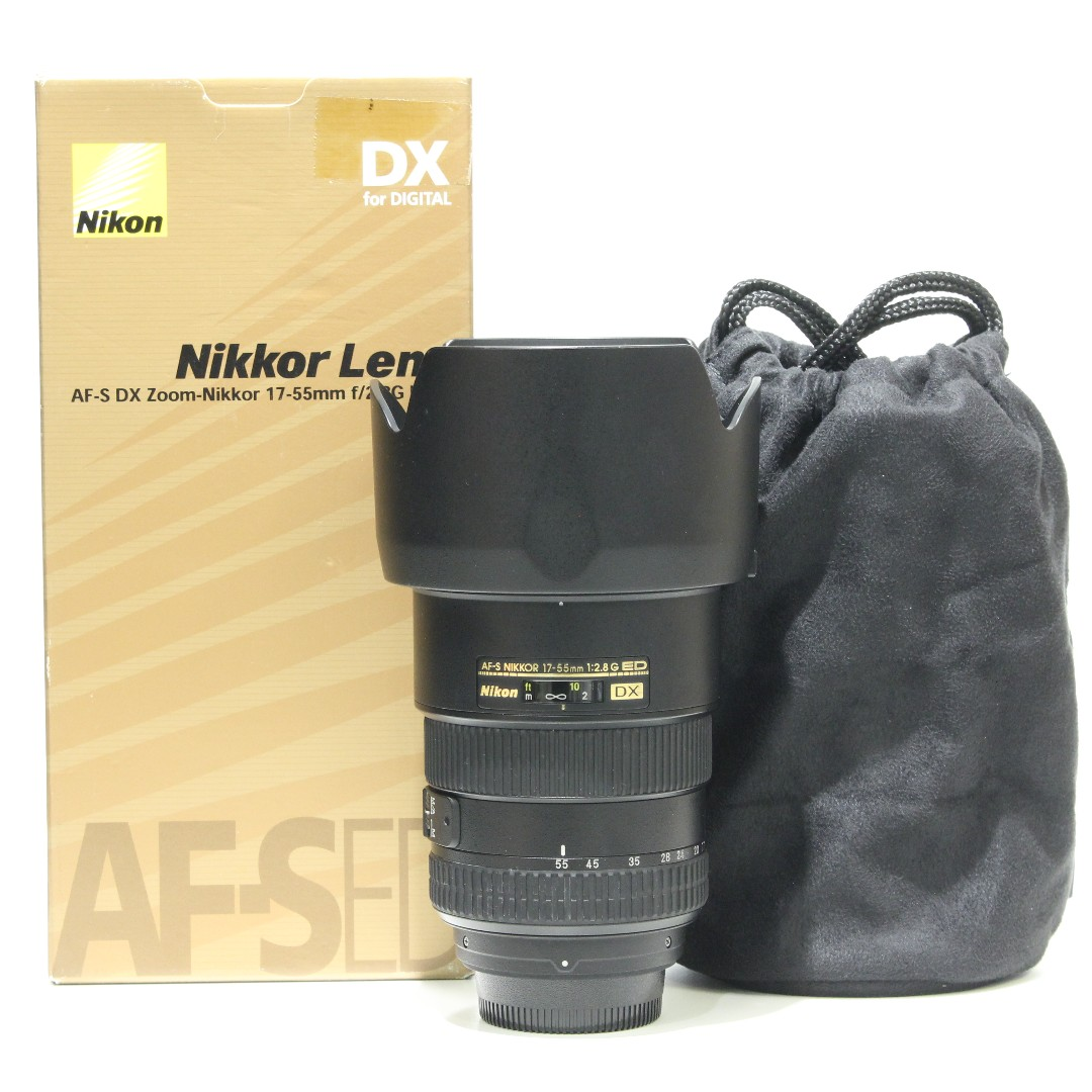 Nikon AF-S 17-55mm F2.8G IF-ED DX Lens